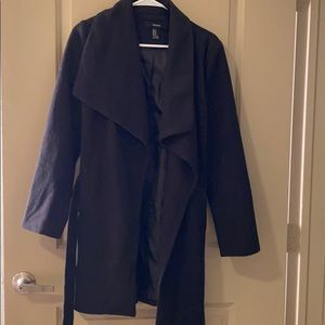 Forever21 Black coat. Size M